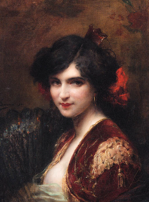 Celestina as painted by the 19th century French painter, Tanoux.